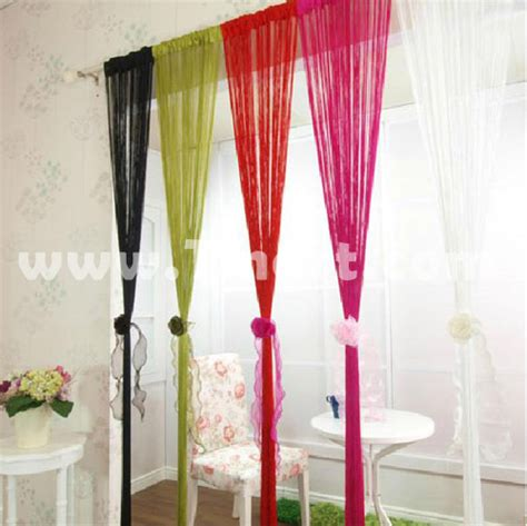 how to make string curtains string curtain with bead sequin spangle fringe panel door