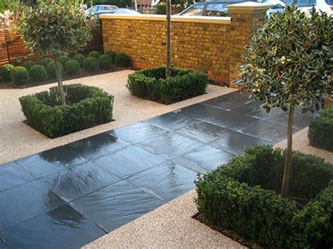 paving backyard contemporary garden design