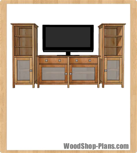 entertainment center woodworking plans plans entertainment center plans free