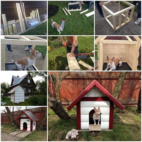 Diy Outdoor Dog House Dogg Pinterest