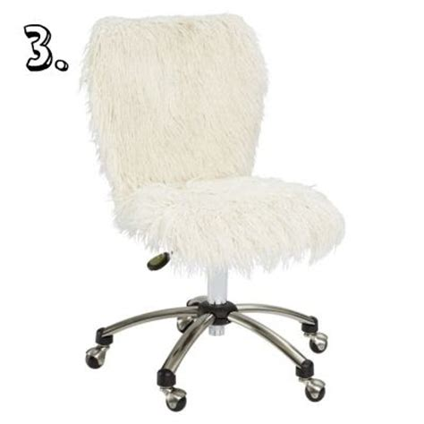 furry desk chair cover super cute desk chairs not boring i promise live nest love