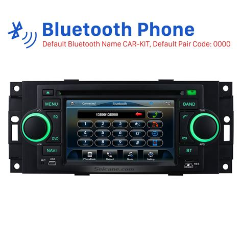 radio dvd stereo bluetooth gps navigation system for 2006 2007 2008 jeep commander compass with