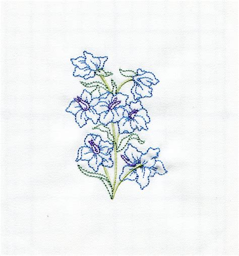 applique leaf amp larkspur july 2013 iec designs