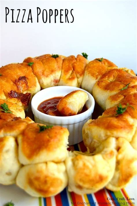 pizza poppers kid the o jays and kid friendly appetizers