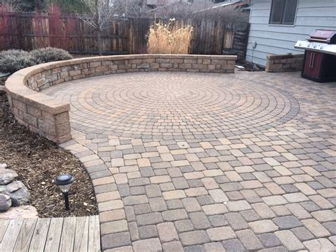 Circular Patio Pavers Top 5 Hardscape And Landscape Trends For 2016 Summit Lawn And Landscape