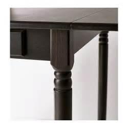 Ingatorp Drop Leaf Table Ingatorp Drop Leaf Table Black Brown 59 88 117x78 Cm Ikea