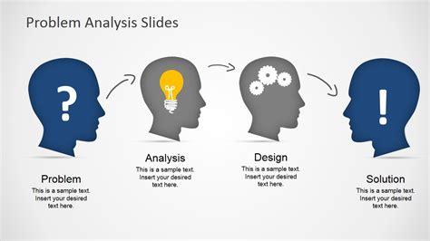 Problem Analysis problem analysis design solution process slidemodel
