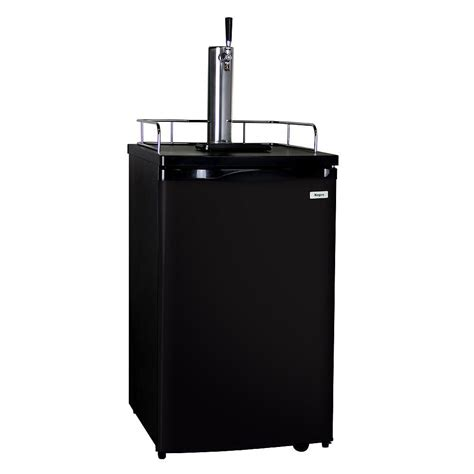 kegco size keg dispenser with single tap k199b 1