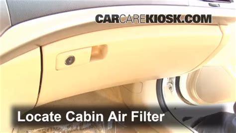 cabin filter replacement honda accord 2008 2012 2011