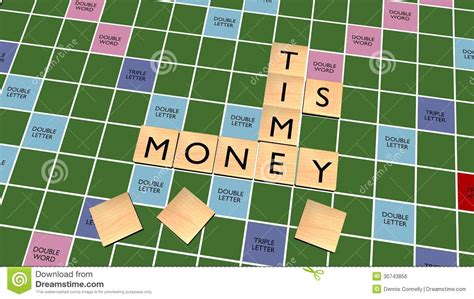 play scrabble for money time is money crossword on scrabble board royalty free