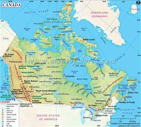 travel maps canada canada map travel montreal