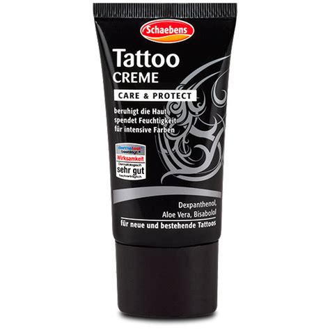 healed ink tattoo aftercare cream tattoo cream online schaebens tattoo creme care protect