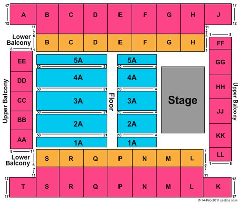 knoxville civic coliseum seating tickets seating chart knoxville civic coliseum
