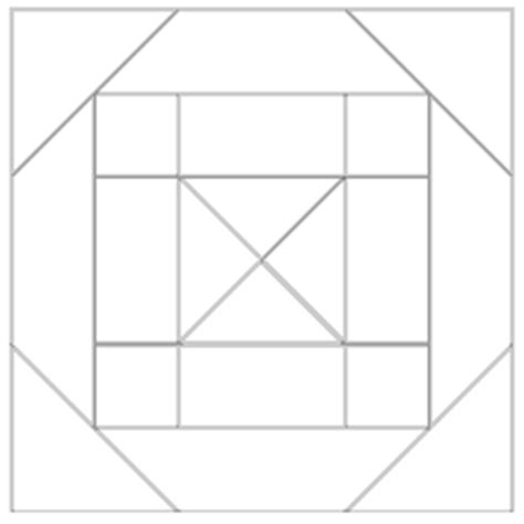 imaginesque quilt block 12 pattern and template