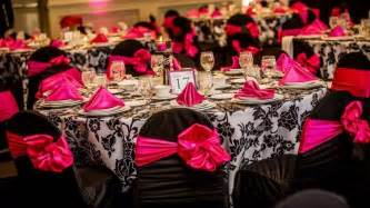 pink and black wedding decor the world s catalog of ideas