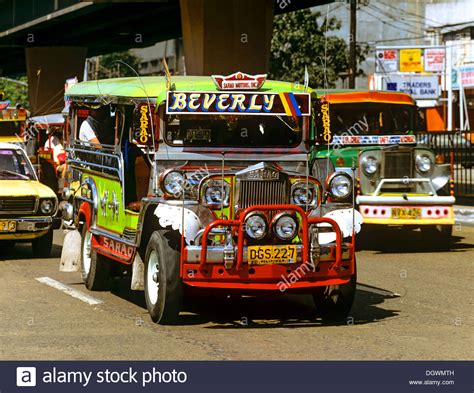 philippines taxi jeepney taxi collective taxi beverly traffic in manila