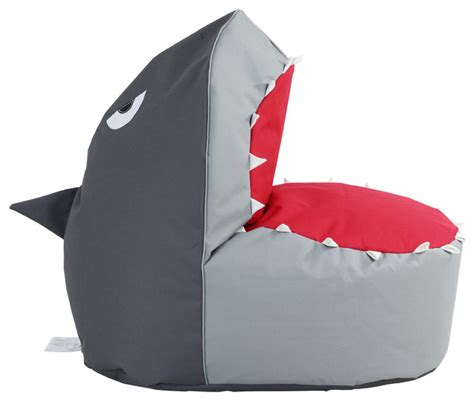 Shark Bean Bag Beanbag Shark Contemporary Chairs By Hrh Designs