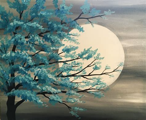 acrylic paint trees learn the basic acrylic painting techniques for beginners