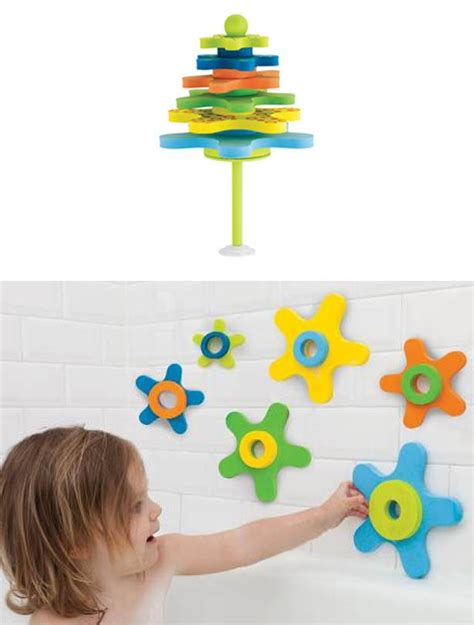 baby bathtub toys best baby bath toys starfish stay put stacker goodtoknow