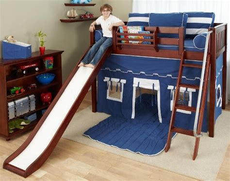 Bunk Beds With Tents And Slides Bunk Bed With Slide And Tent Foter