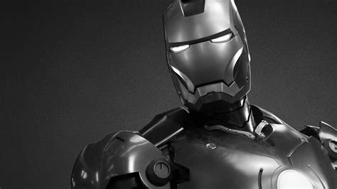 Iron Man Wallpaper For Macbook | 1920x1080 black and white iron man desktop pc and mac