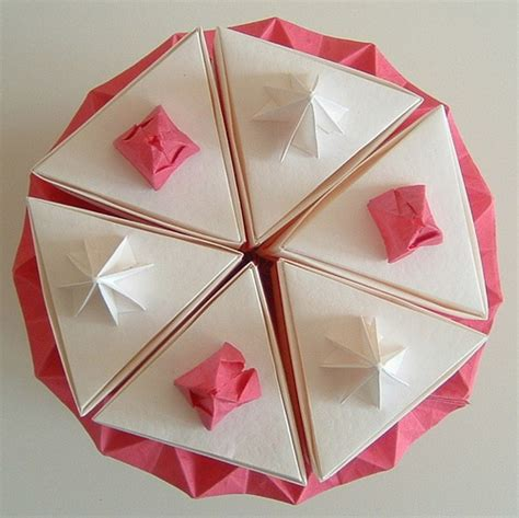 How To Make A Origami Cake - photo