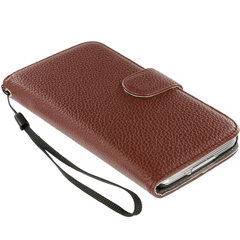 Samsung Galaxy S5 Wallet Leather Flip Cover Casing Dompet Kulit 2 for samsung galaxy s5 leather wallet leather pouch cover flip card holder ebay