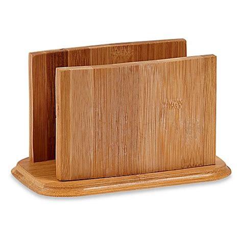 bathroom napkin tray buy home basics 174 bamboo napkin holder from bed bath beyond