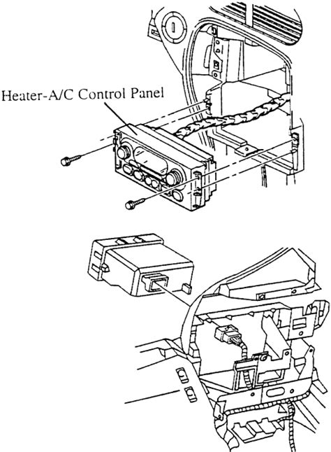 how to remove a heater control on a 1985 lincoln continental repair guides heating and air conditioning control panel autozone com