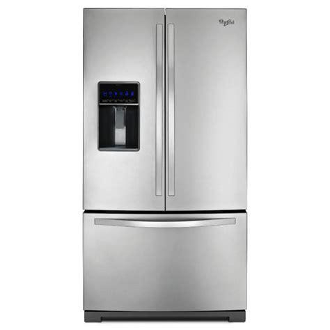 whirlpool 25 cu ft refrigerator door whirlpool wrf736sdam 25 cu ft door refrigerator sears