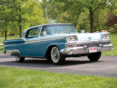 1959 Ford Fairlane by 1959 Ford Fairlane Skyliner Retractable