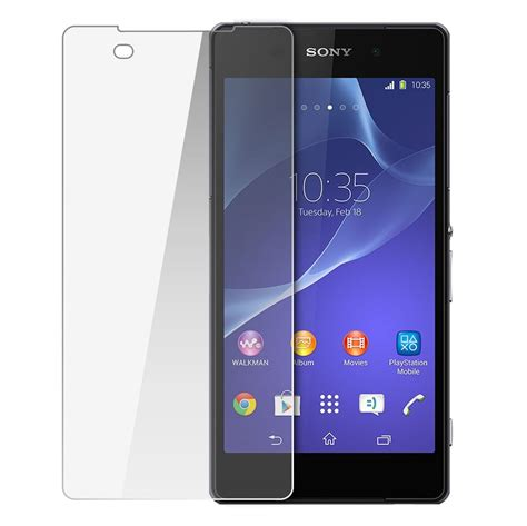 Tempered Glass Sony Xperia Z2 Compact Z2 Mini A2 J1 Compact Docom orzly tempered glass screen protector sony xperia z2