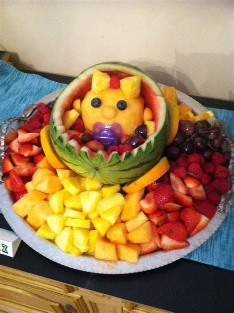 Fruit Baby For Baby Shower by Baby Shower Fruit Salad Diy Creativity