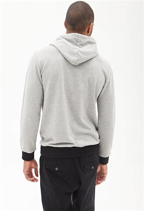 Hoodie Sidemen Grey Ken21 1 lyst forever 21 printed hoodie in gray for