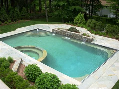 Yard Pool Layouts Best Layout Room Backyard Pool Images