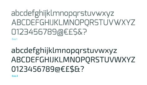 exo font exo font kreativ font
