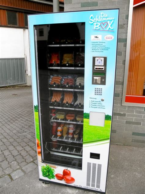Sausage And South Diet Vending Machines by Sausages Vending Machines Say What A Vending Machine