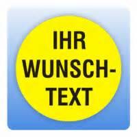 Aufkleber Rund Gelb by Qualit 228 Tssicherungsaufkleber Mit Eigenem Text In Gelb