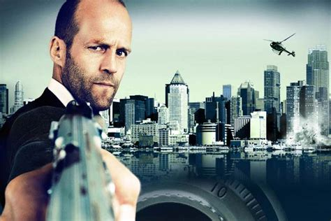 jason statham football film review it s jason statham s show in safe news18