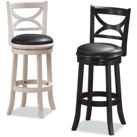 amazoncom boraam  florence bar height swivel stool   distressed black kitchen