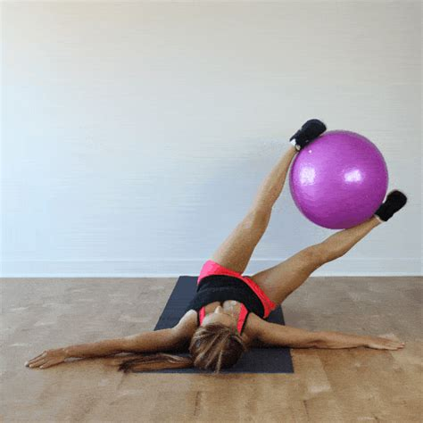 stability ball ab exercises  tone  strengthen