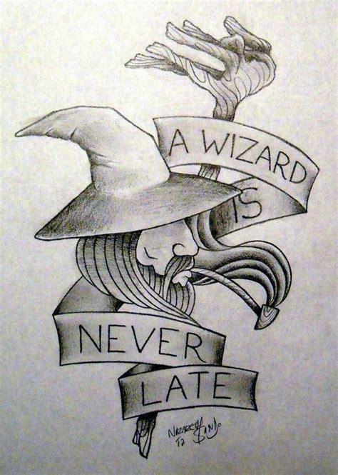 gandalf tattoo gandalf quote craft list gandalf