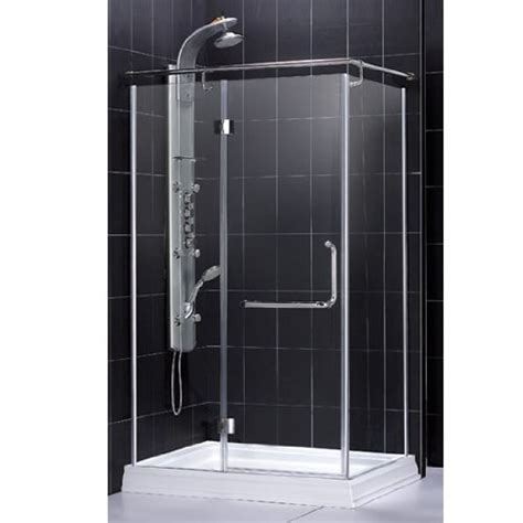 Corner Shower Units Corner Shower Stalls Concrete Powder