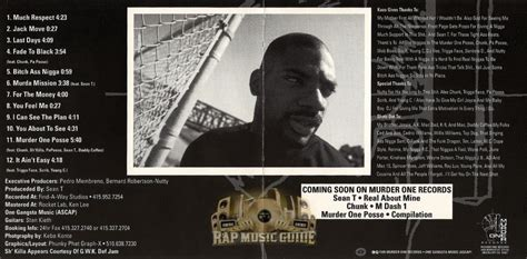 Kaos T Wayne kaos in the mist of kaos promo cd rap guide