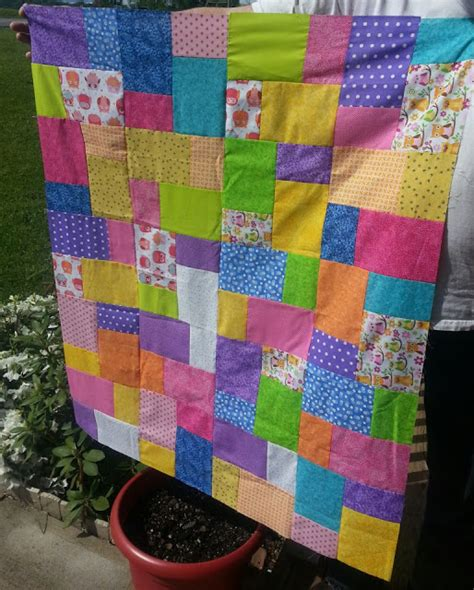 Thin Quilt Thin Line Quilts Baby Patchwork Blanket Top