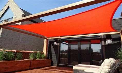 sail awnings for decks outdoor canopy designs cool shade sails for your backyard