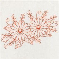 redwork oriental flora 1 embroidery design redwork floral embroidery designs machine embroidery