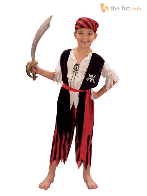boys pirate costume toddler buccaneer boys pirate costume caribbean fancy dress age