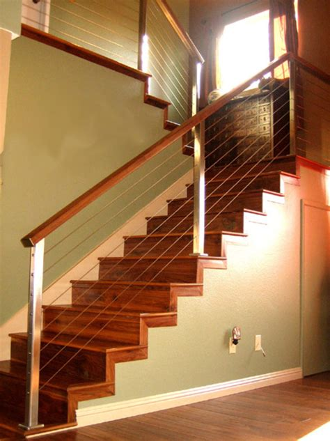 Cable Stair Railing Architectural Railings Stainless Steel Cable Railing