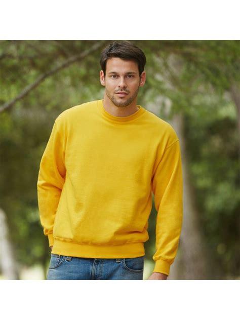 Drop Shoulder Plain Sweatshirt plain sweatshirt drop shoulder fruit of the loom 280 gsm